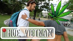 HUE, VIETNAM – He tried selling us WEED | Travel Vlog Ep. 42