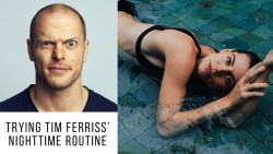 I tried Tim Ferriss' NIGHTTIME ROUTINE for 7 days for Optimal Relaxation and Sleep
