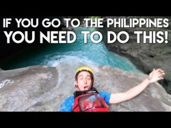 My FAVORITE Adventure in the Philippines – Canyoneering to Kawasan Falls – Travel Vl ...