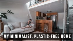 My Hipster Minimalist, Plastic-Free Home Tour – I HAVE A HOUSE!