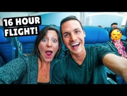 OUR LONGEST FLIGHT EVER | 16 hrs San Francisco to Singapore on United Airlines