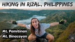 RIZAL MOUNTAIN HIKE WITH FRIENDLY FILIPINOS 🇵🇭 Philippines Vlog Ep 29