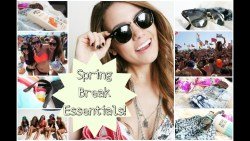 Spring Break Essentials | What To Pack for the Beach!