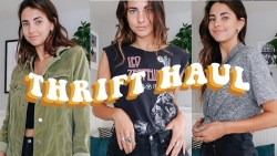 Try On Thrift Haul | Giveaway!
