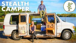 Van Life Tour – Solar Powered Off-Grid Camper Van on a Budget