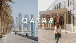 a day in doha, qatar | travel vlog