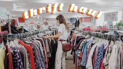 come thrifting with me & try on haul ep. 10