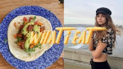 what i eat in a day as a college student (healthy + easy)