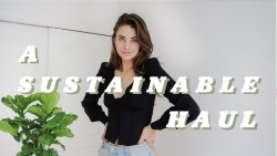 A Sustainable Clothing Haul!