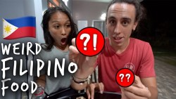 FOREIGNERS EAT WEIRD FILIPINO FOOD