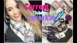 My Current Winter Favorites | 2014