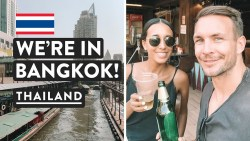 2 HOUR BANGKOK MISSION – RIVER BOAT & BTS | To Khao San Road | Thailand Travel Vlog