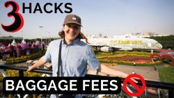 3 HACKS to AVOID AIRLINE BAGGAGE FEES – Couple vs. Salam Air