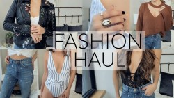 TRY ON FASHION HAUL   Spring Style