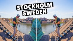 The BEST Way to See Stockholm Sweden – ROOFTOPPING!