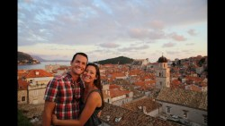 Walking on Dubrovnik's ANCIENT CITY WALL!
