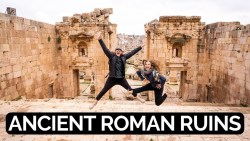 BEST PRESERVED ROMAN CITY | JERASH Jordan Ancient Ruins