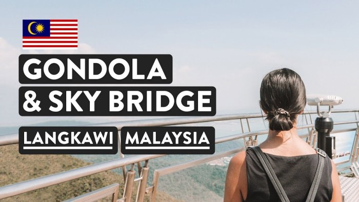 MUST DO ON LANGKAWI ISLAND  🚀Skycab Cable Car & Skybridge | Malaysia Travel Vlog