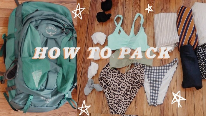 What to Pack for Vacation |  Backpacking in India