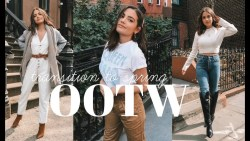 OOTW | 5 Transition to Spring Outfits