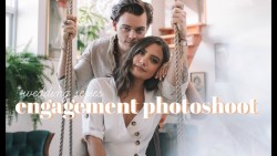 WEDDING SERIES: Engagement Photoshoot + Save the Date