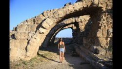 North Cyprus ROAD TRIP! Olive Oil factory, Famagusta, Salamis Ruins