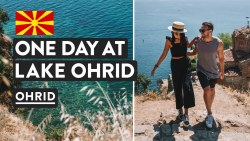 Europe's Best Lake? Where Albania & Macedonia Meet | Skopje To Ohrid Tour