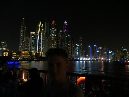 View from Dubai Marina Cruise