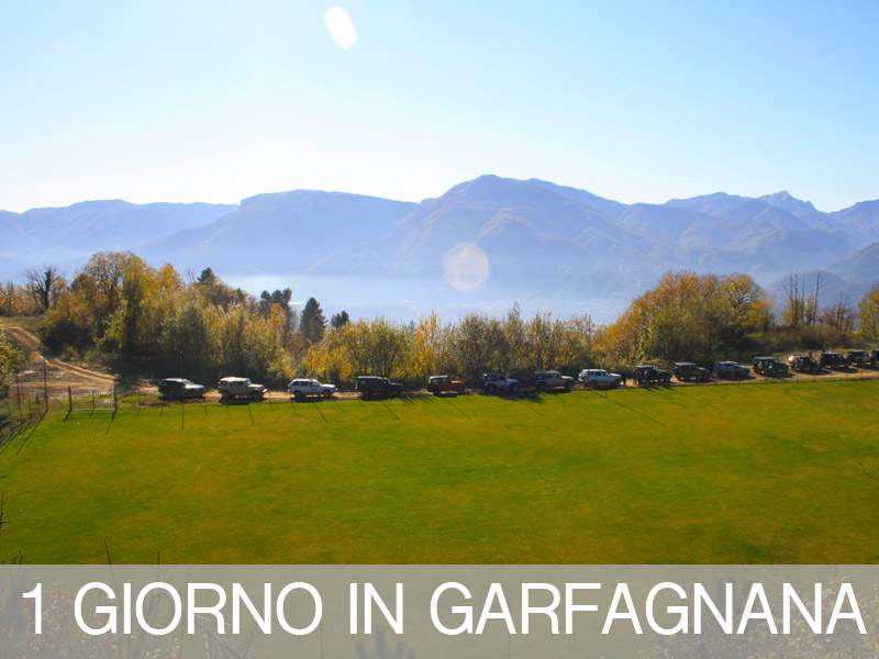 Tour 4x4 in Garfagnana
