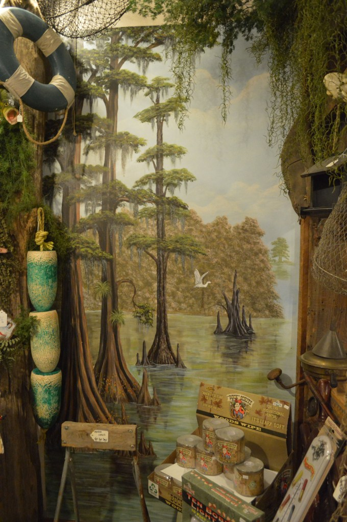 Village Gifts and Decor swamp scene