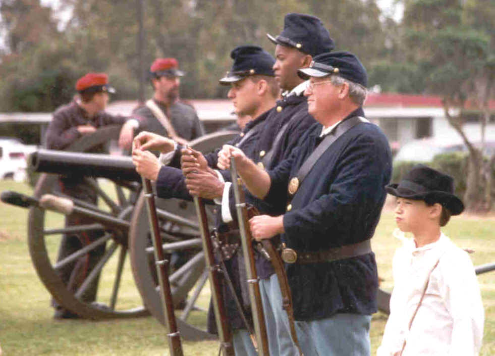 Fort Butler Union Soldiers