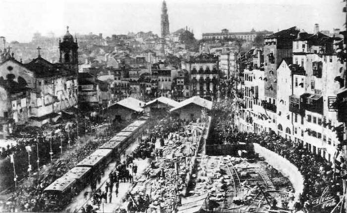 Construction of Porto's Bento Station