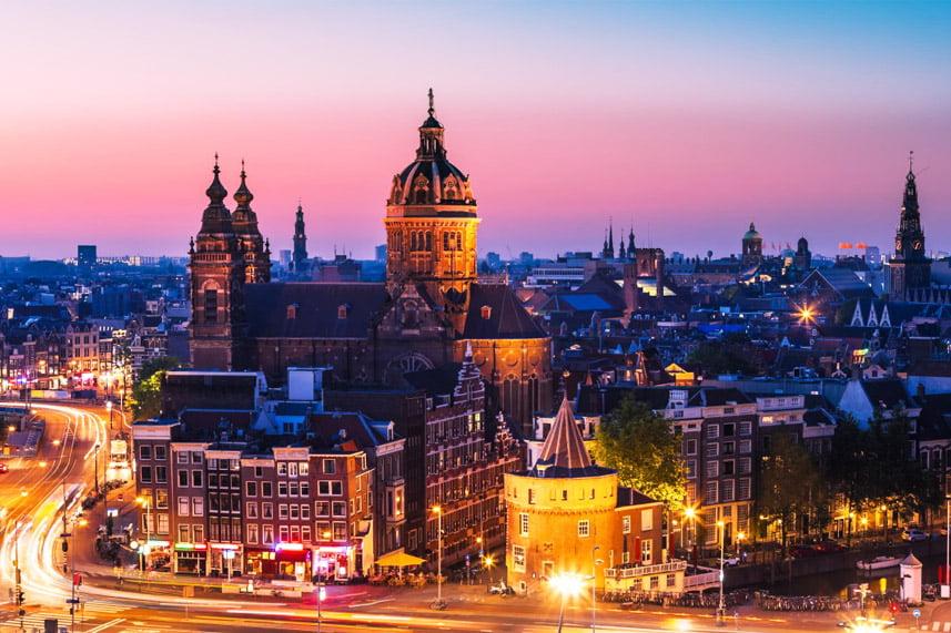 Дві стихії, Амстердам, Нідерланди