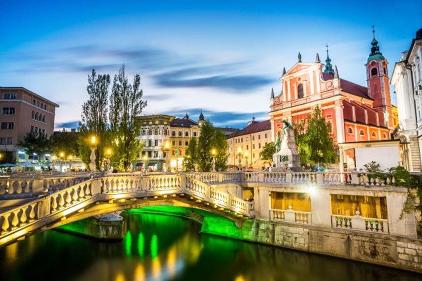 Бліц Любляна та Венеція