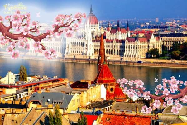 Вікенд в Будапешті та Відні