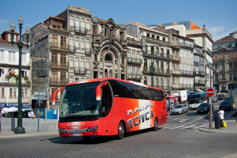 автобус Лиссабон Порту