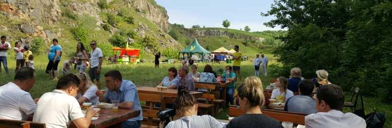 Гастро-фест в українському Стоунхенджі
