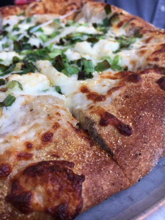 Scallion Pizza from Pi Pizzeria
