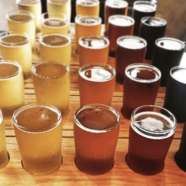 Flights at Taft's Ale House