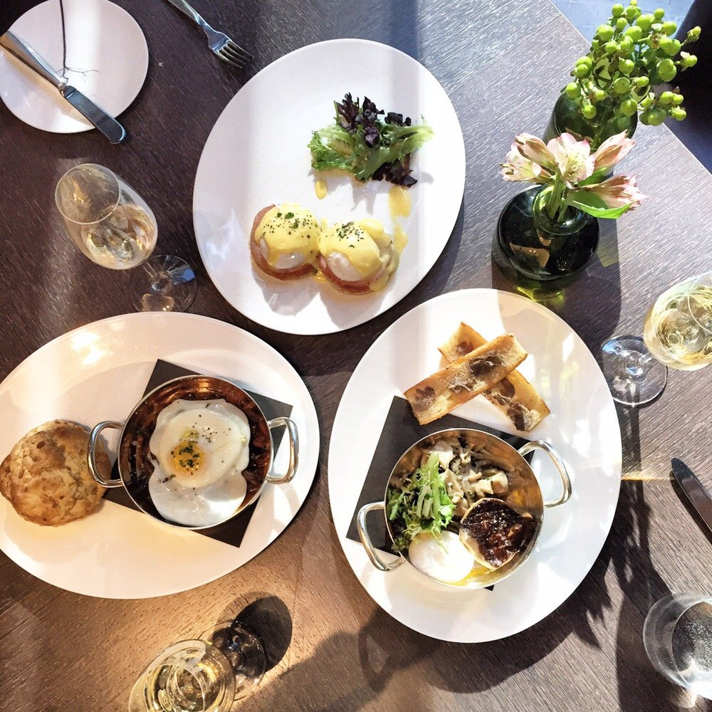Eggs Benedict, Foie Gras, Duch Hash