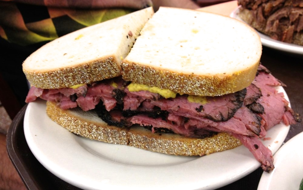 The Best Pastrami Sandwich