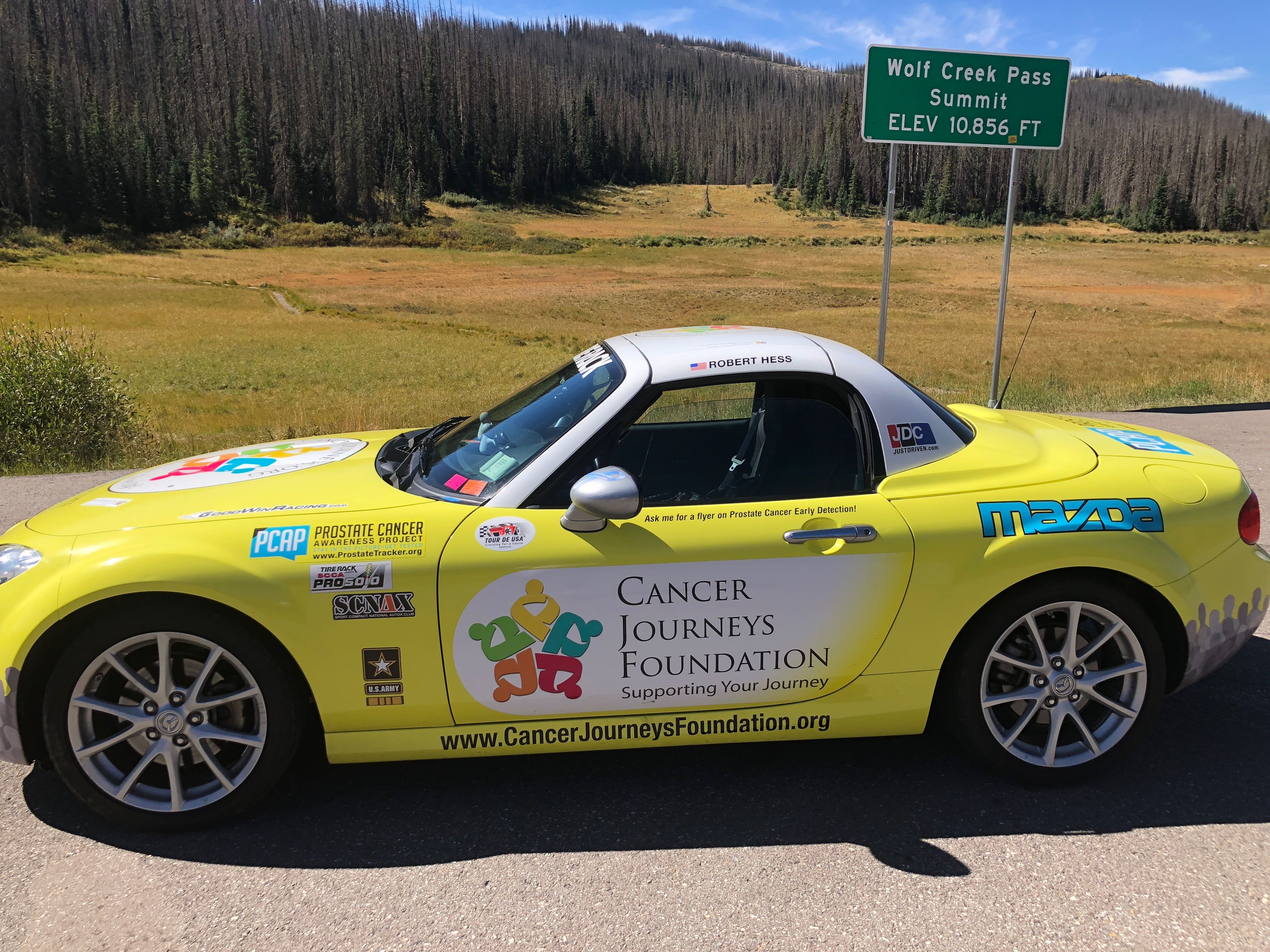 images from 2018 Tour de USA for Prostate Cancer