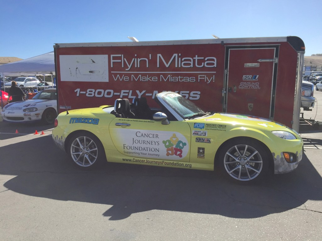 Cancer Journeys Foundation MX-5 Miata