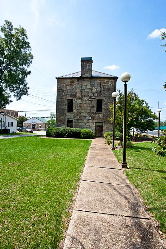 Old Rock Jail & Museum - East Alabama Travel Destinations