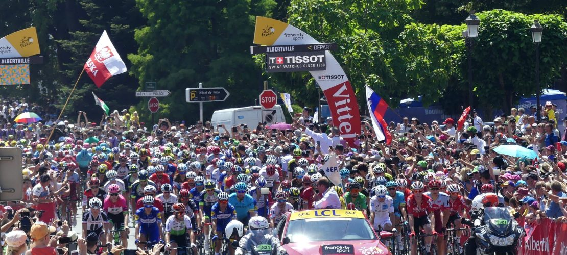 2018 Tour de france Stage 11 Depart in Albertville