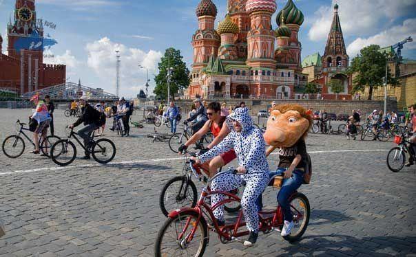 bici san basilio moscú