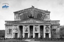 El teatro Bolshoi en el periodo sovietico
