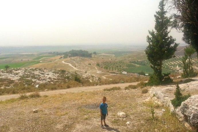 Samson's playground - Tel Tzorah