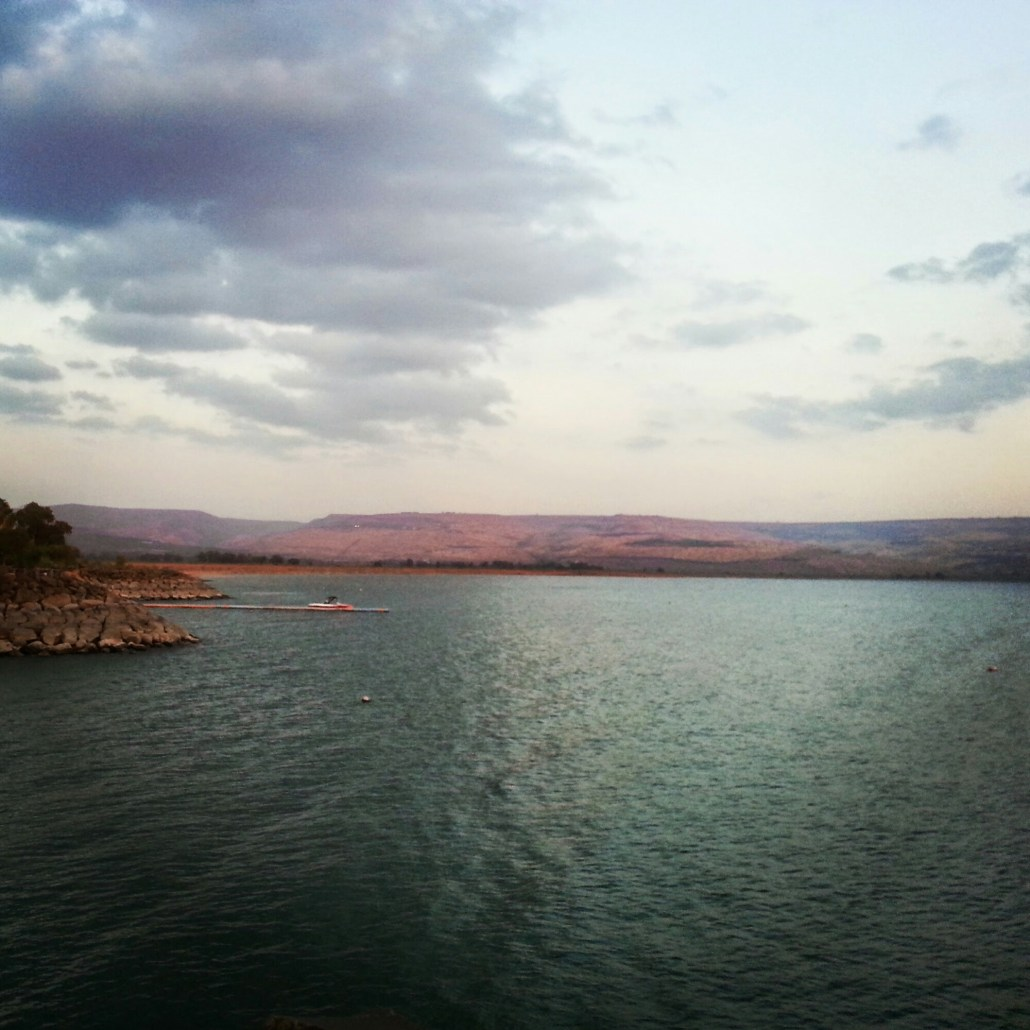 At the Kinneret