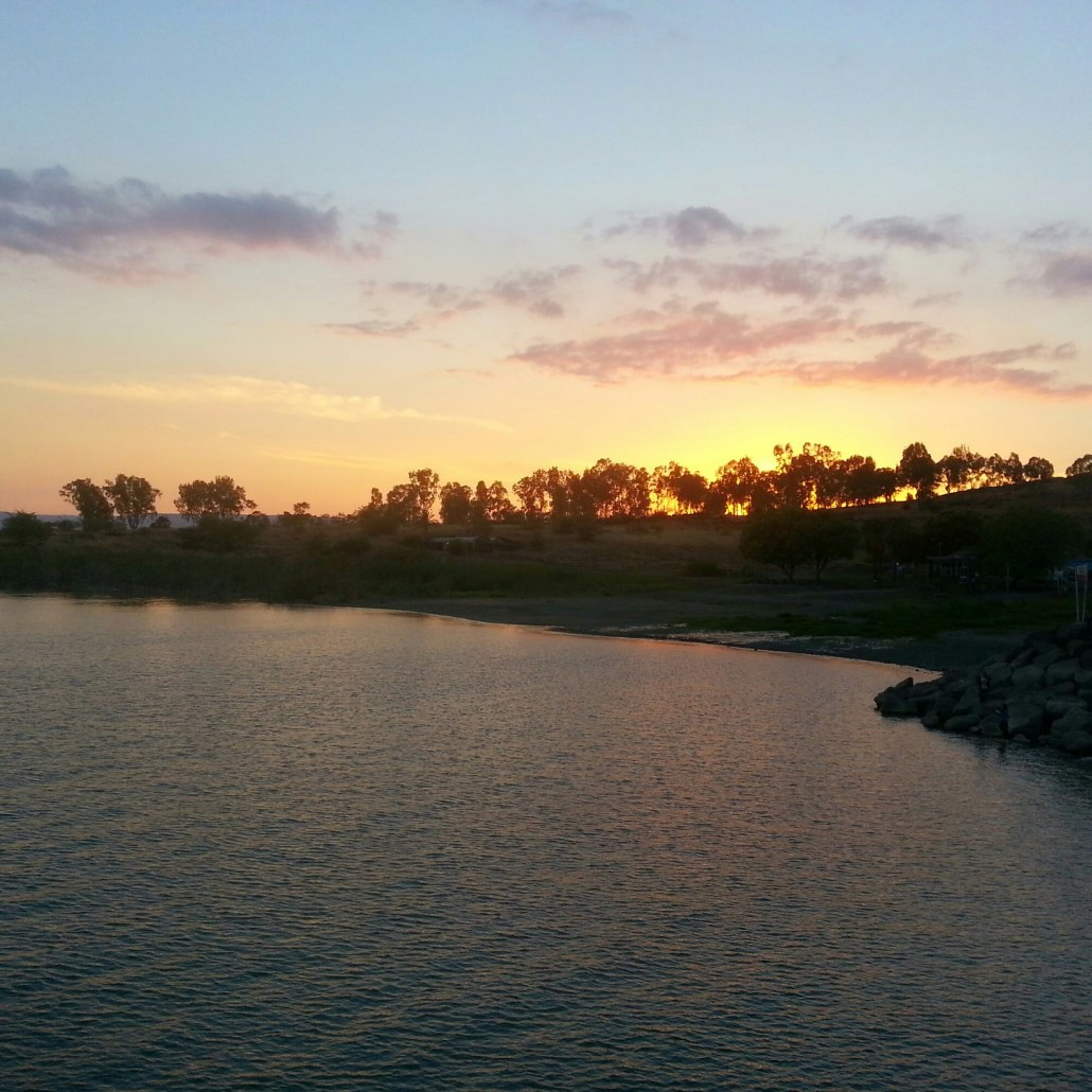 Sunset at the Kinneret